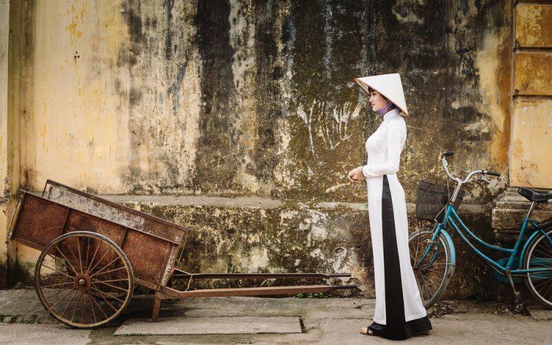 ao dai vietnam femme