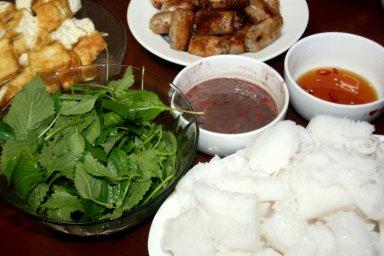 bun dau mam tom vietnam cuisine