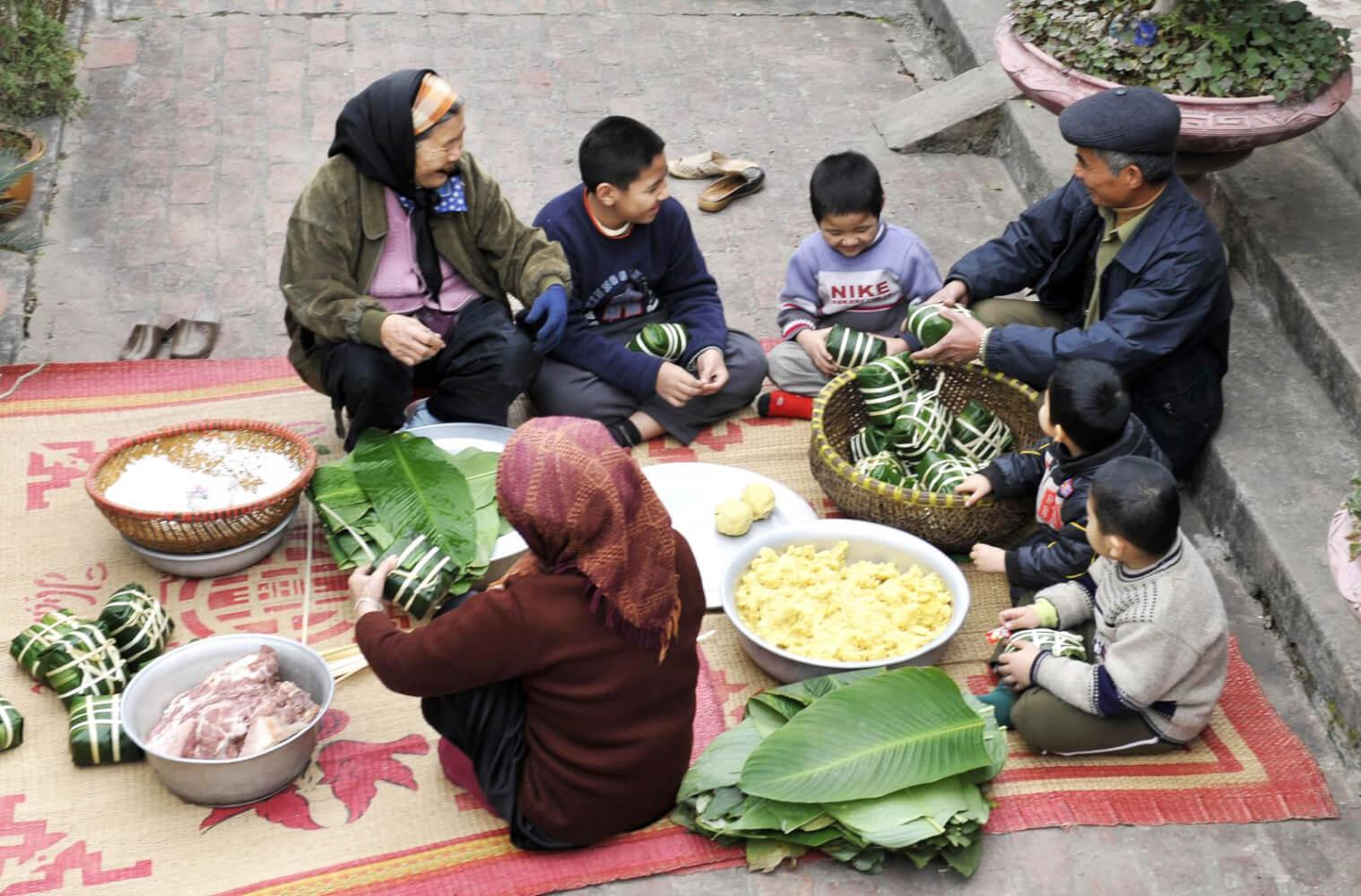 banh chung vietnam