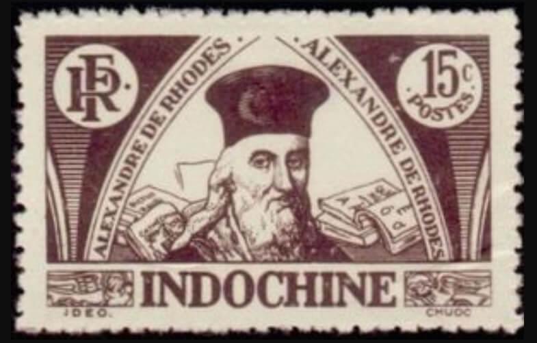 alexandre de rhodes timbre
