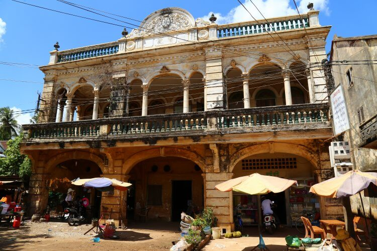 visiter cambodge architecture coloniale Blog 360