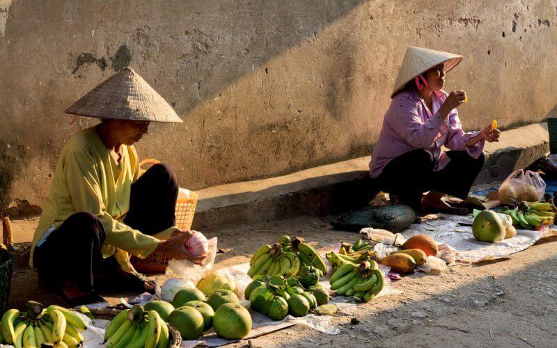 marchés vietnam