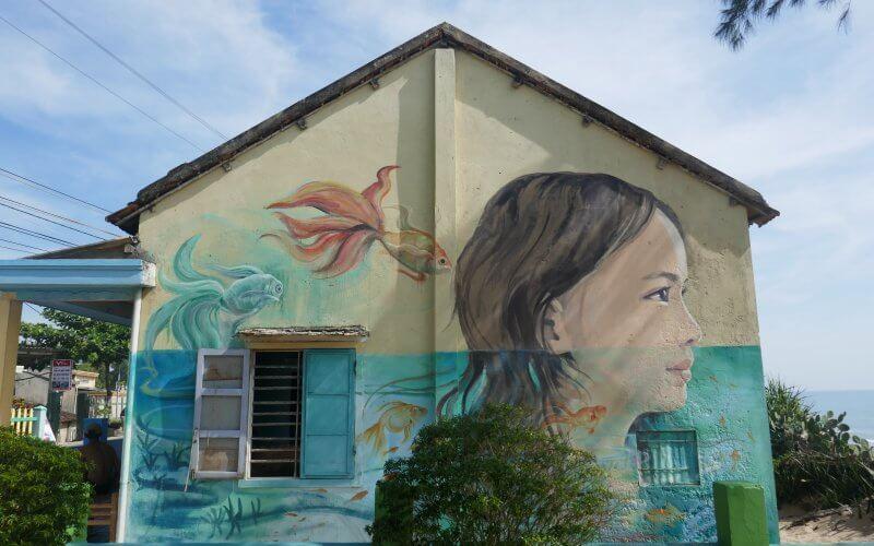 village de fresques tam thanh vietnam