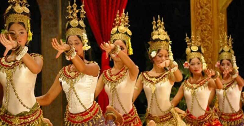 apsara danse traditionnelle cambodge