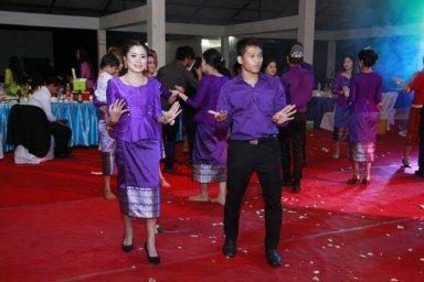Le Lam Vong, la danse traditionelle laotienne