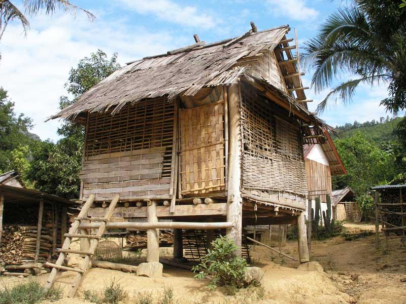 Maison ethnique laos