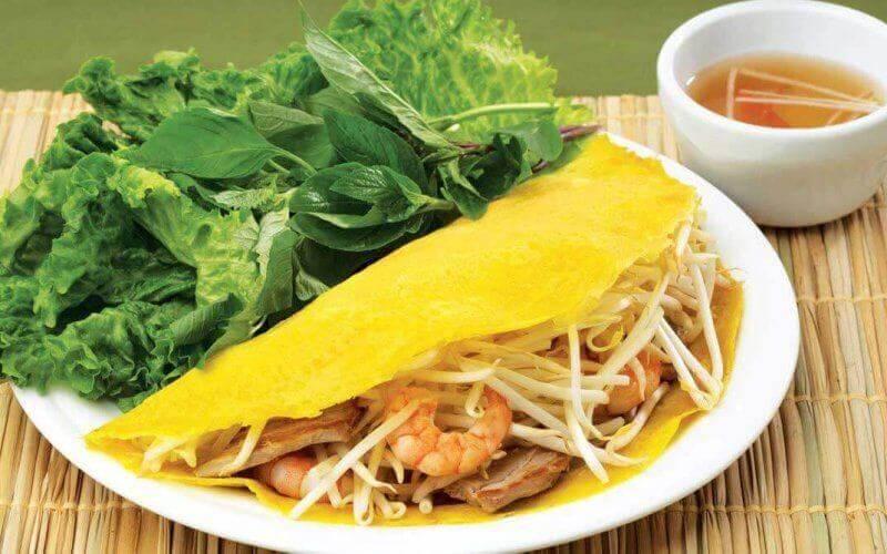 Banh Xeo, la crêpe vietnamienne
