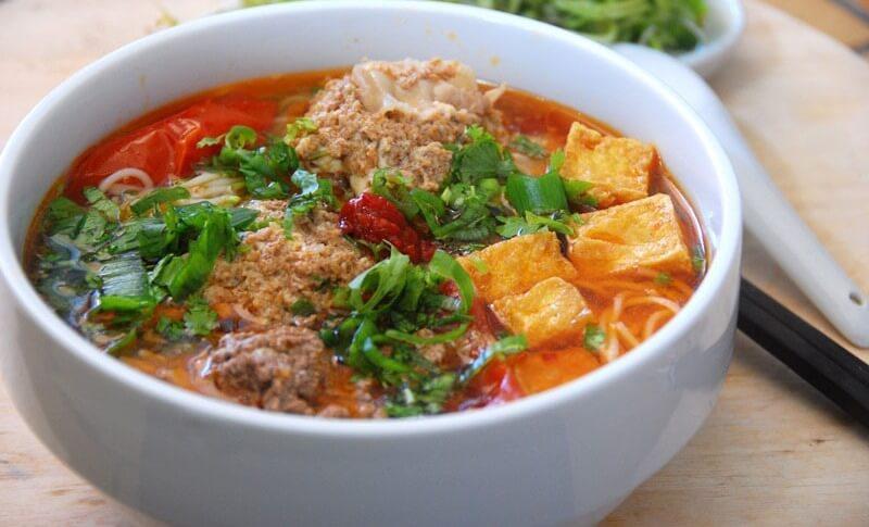 bun rieu cua recette cuisine vietnam