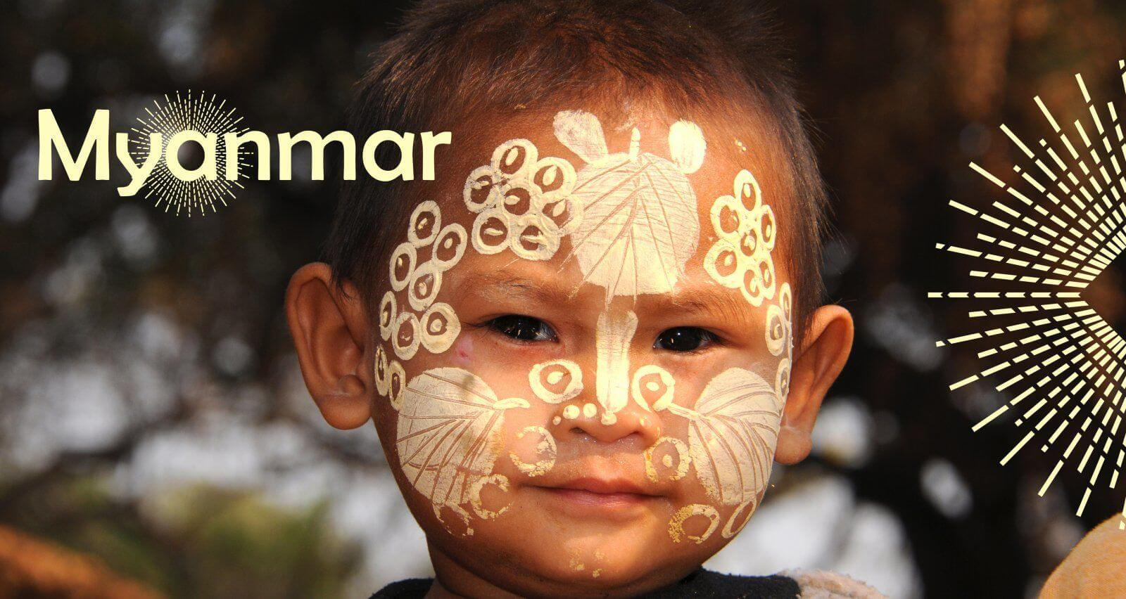Thanaka, une crème miracle birmane amica travel
