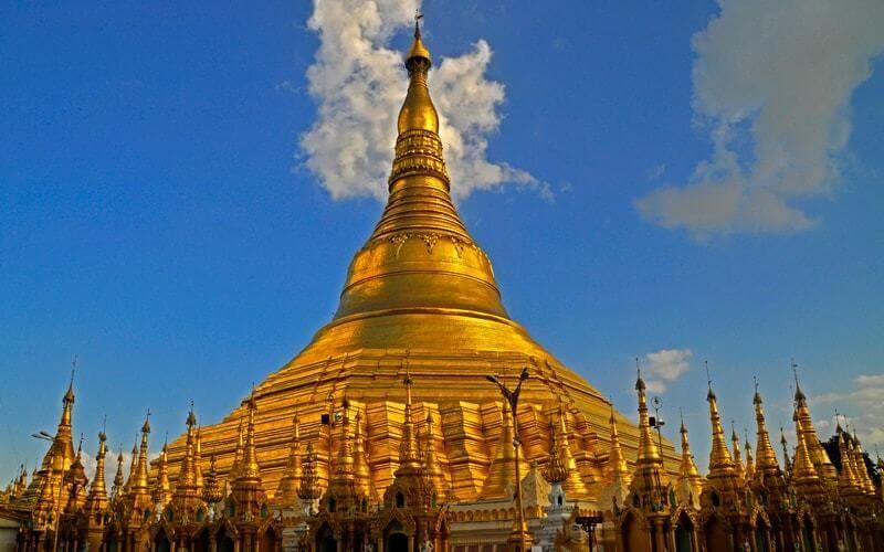 La pagode Shwedagon à Yangon - Amica Travel