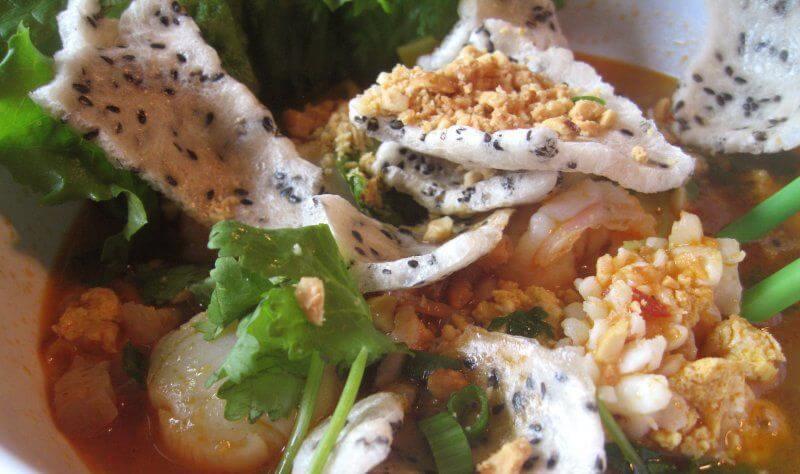 Recette du mi quang centre Vietnam amica travel