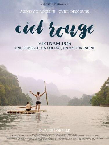 affiche ciel rouge film francais vietnam