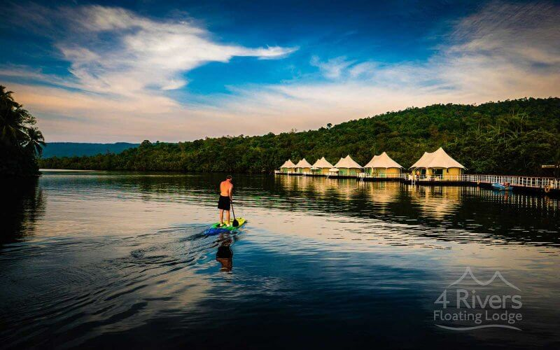 4 rivers floating lodge Ta Lai