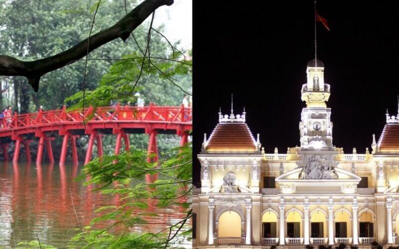 hanoi saigon hochiminh vietnam voyage