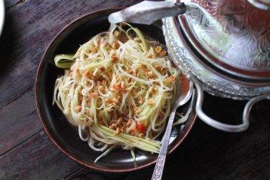 salade de papaye cuisine laotienne