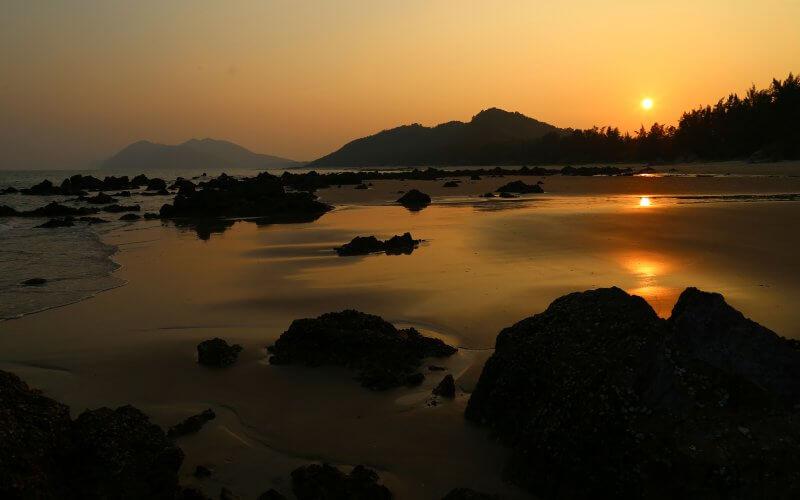 coucher de soleil quan lan