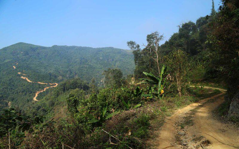 randonnee phongsaly laos