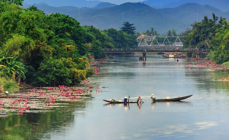 toponymie rivière parfums hué voyage