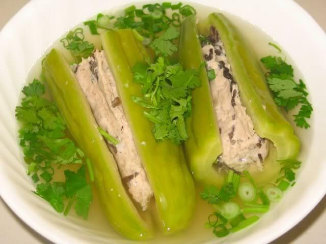 concombre amer soupe vietnam cuisine