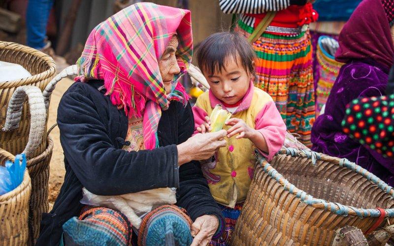 marche ethnique bac ha vietnam