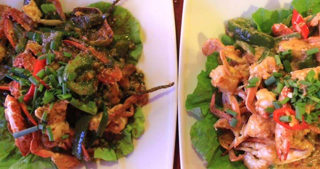 crabe Kep Kampot