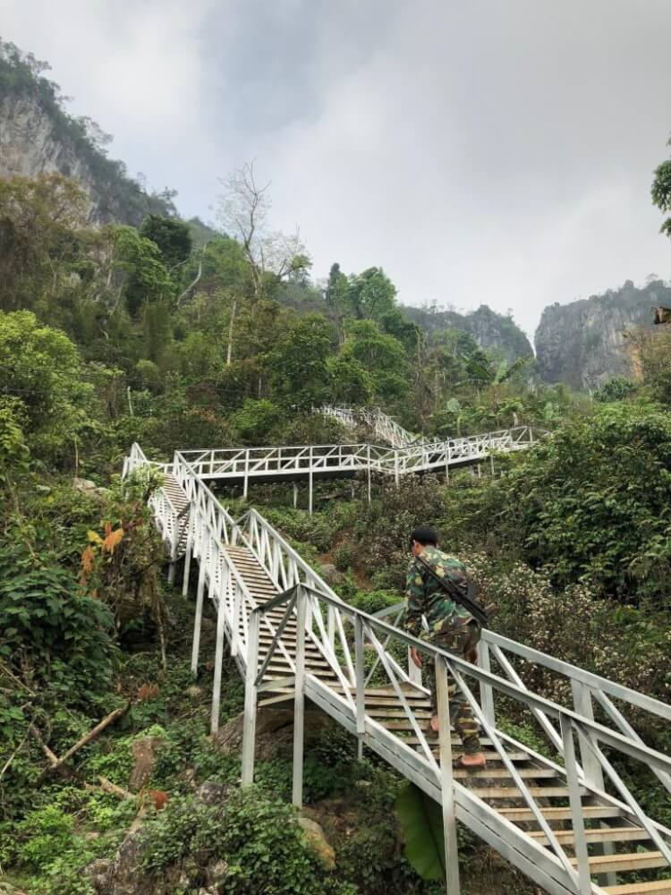 escalier phu pha thi