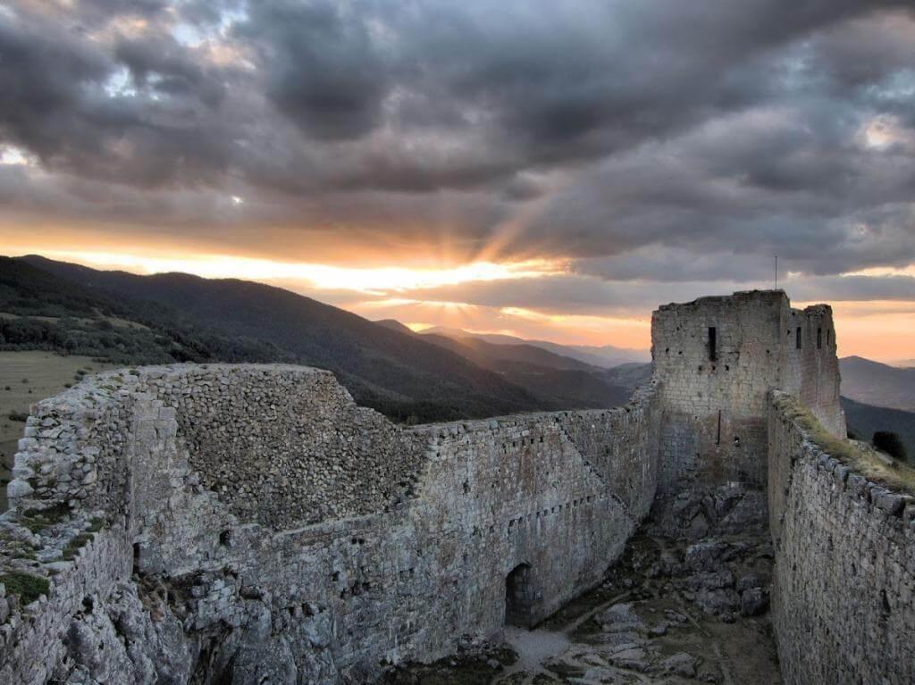 montsegur forteresse cathare