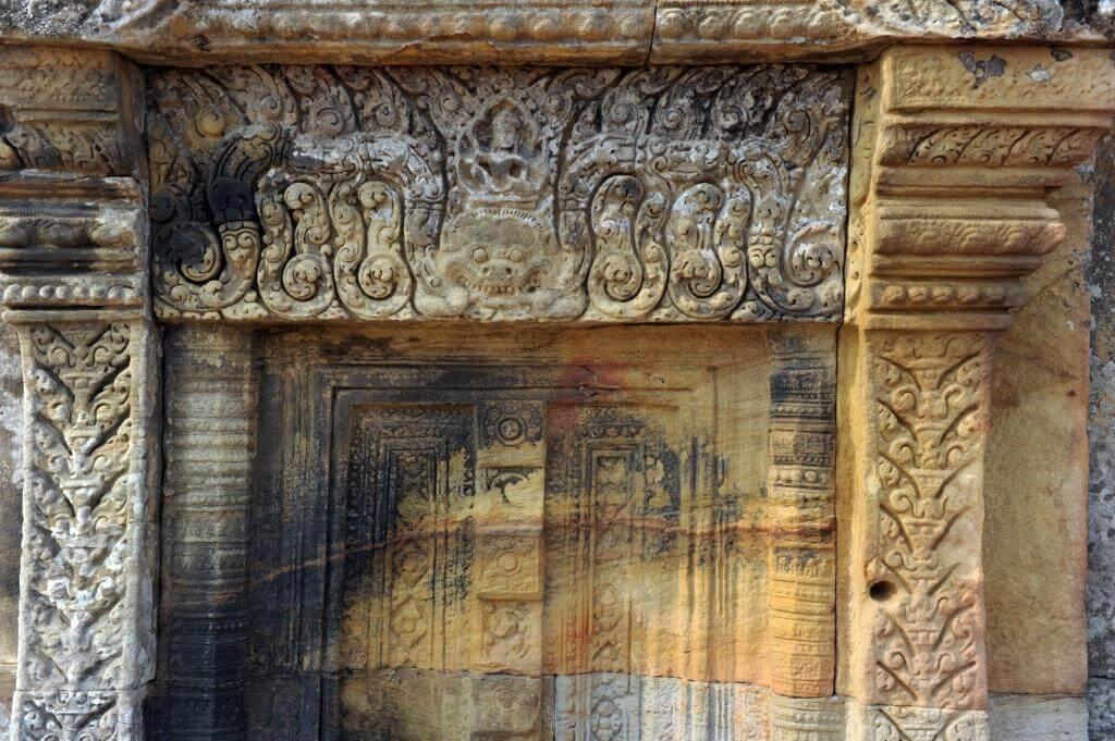 preah vihear temple sculpture
