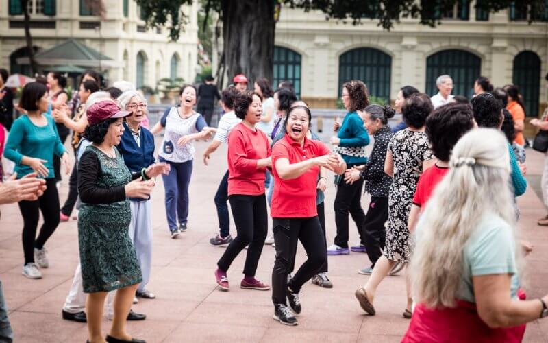 Yoga du rire Hanoi