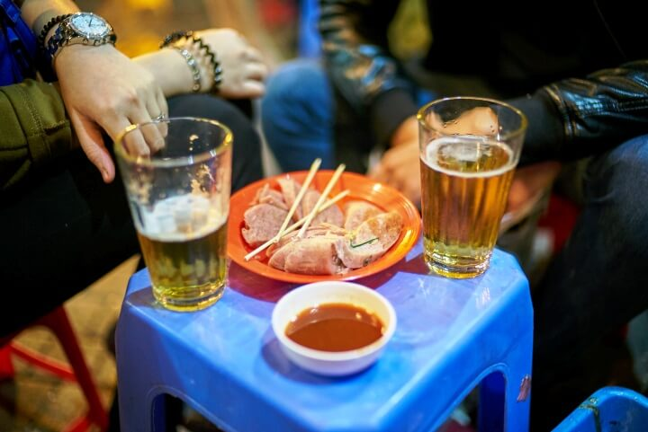 nem chua bière Vietnam