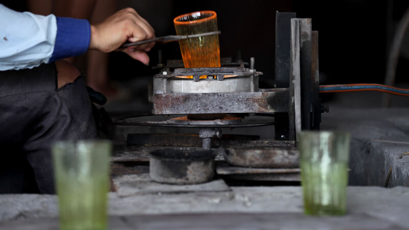 fabrication verre bière vietnam