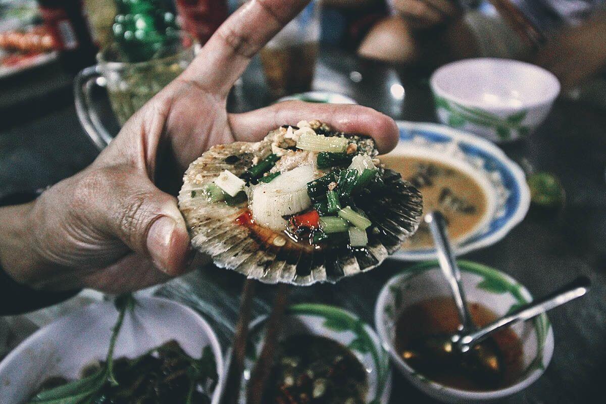 streetfood seafood saigon