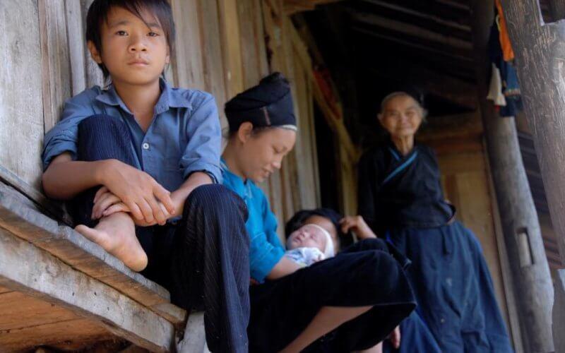 famille portrait vietnam