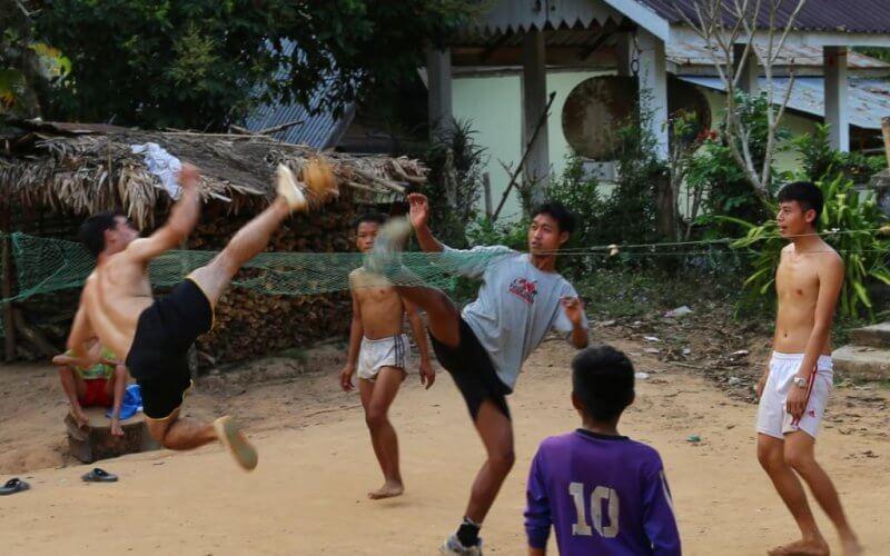 kataw laos campagne